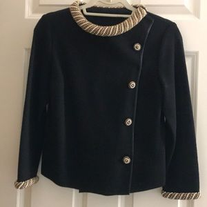 Jackets & Blazers - Beaded collared and cuffed jacket